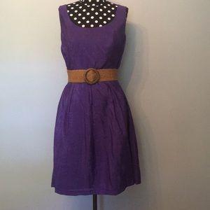 Nine West belted dress